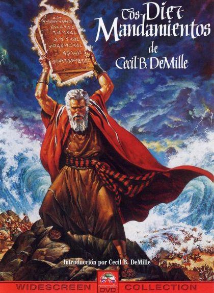 Cartell de la pel·lícula 'Els deu manaments'