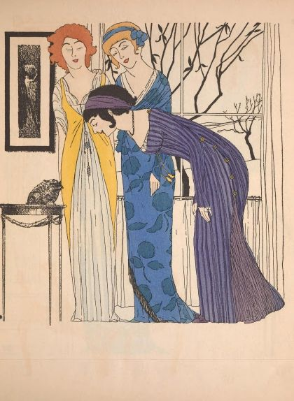 Dissenys fets per Paul Poiret l'any 1908