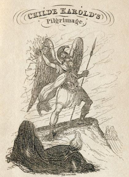 'Childe Harold's Pilgrimage', de Lord Byron, un poema narratiu que descriu els viatges i reflexions d'un jove decebut amb el món