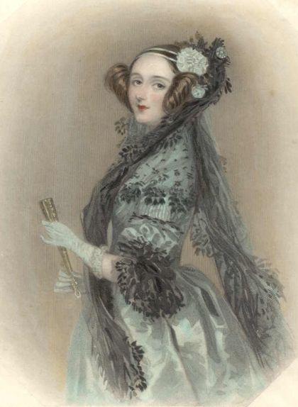 Retrat de la filla de Lord Byron, Ada Lovelace, de l'any 1838
