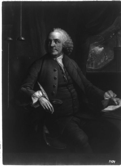 Retrat de Benjamin Franklin
