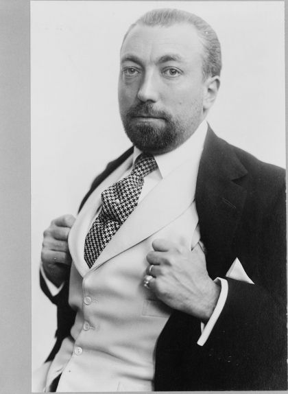 Fotografia de Paul Poiret del 1913