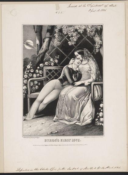 Lord Byron i el seu primer amor, Mary Chaworth