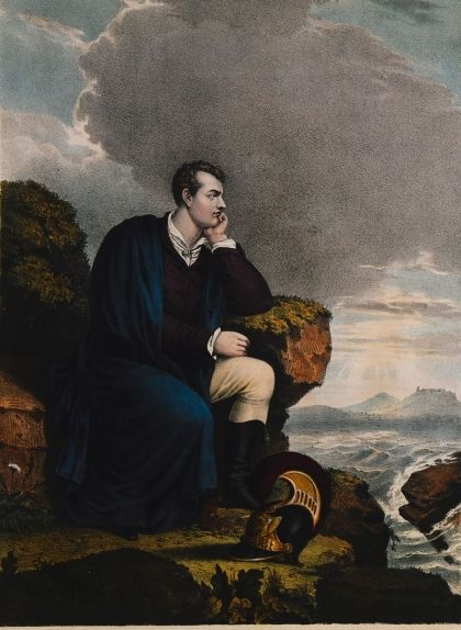 Retrat de Lord Byron