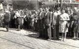 Els líders comunistes romanesos Chivu Stoica i Gheorghe Apostol, a Bucarest, esperant l'Exèrcit Roig, el 29 d'agost de 1944