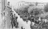 L'Exèrcit d'Alliberament de Iugoslàvia entra a Negotin (Sèrbia), el setembre de 1944