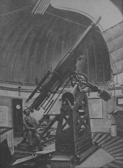 El gran telescopi que Patxot va inaugurar a la seva casa de Sant Feliu de Guíxols l'abril del 1896