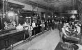 Interior de l'Arizona Club, al Block 16 de Las Vegas, pels volts del 1907