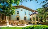 El jardí de la Casa Ricart de Vic