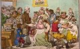 'The Cow-Pock or the Wonderful Effects of the New Inoculation!', vinyeta de James Gillray