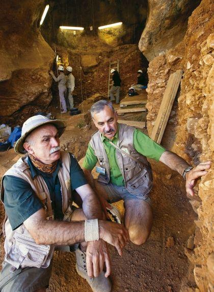 Eudald Carbonell al jaciment d'Atapuerca