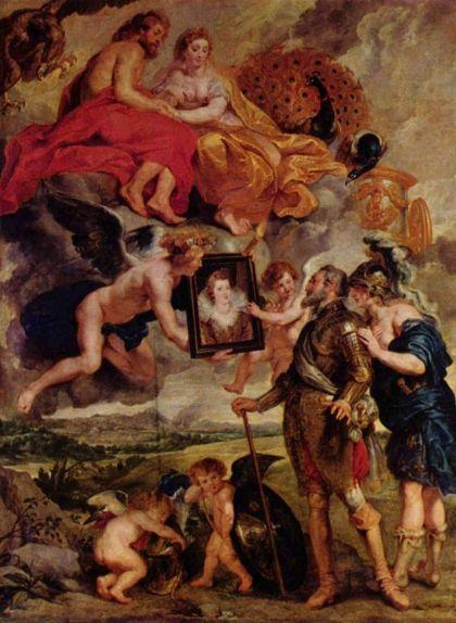 'Enric IV rep el retrat de Maria de Mèdici', de Rubens