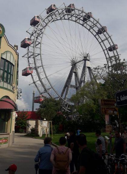 Roda de fira del Prater, a Viena