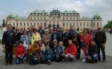 El grup del primer viatge SÀPIENS a Viena