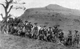 L'exèrcit bòer a la batalla de Spion Kop durant la segona guerra bòer l'any 1900