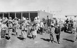 Dones i nens bòers en un camp de concentració britànic durant la segona guerra dels bòers l'any 1901