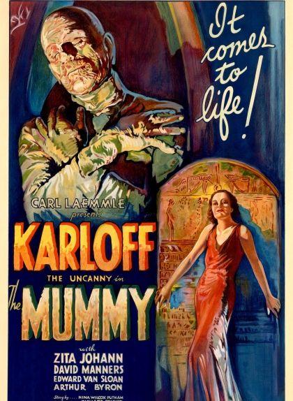 Cartell de la pel·lícula 'The Mummy' de l'any 1932