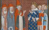 El rei de Sicília Carles d'Anjou i el papa Martí IV