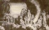 Caravana de bòers a Colònia del Cap el 1800s