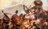 Els zulús ataquen una caravana bòer a Blaauwkrantz, el 1838