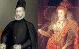 Retrats de Felip II i Elisabet Tudor