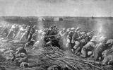 Imatge de la revista britànica 'The Graphic' que mostra una trinxera bòer durant el setge de Mafeking
