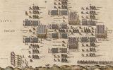 Terços espanyols marxant en formació durant la batalla de Nieuwpoort, el juliol del 1600