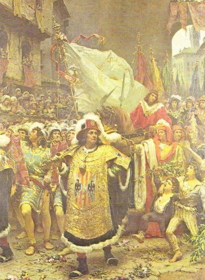 'Entrada del príncep de Viana a Barcelona', de Ramon Tusquets