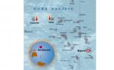 Mapa de les illes Marshall