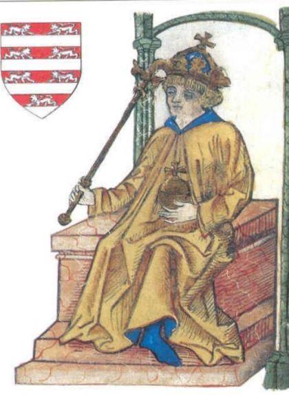 El jove Ladislau al tron