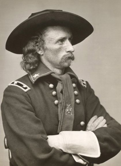 Retrat de George Armstrong Custer