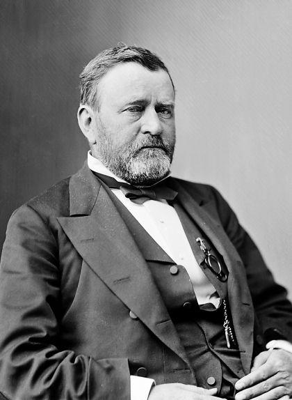 Retrat del president dels EUA Ulysses S. Grant