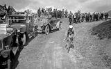 Fotografia d'un dels primers Tours de França