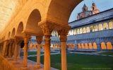 El claustre del monestir de Sant Cugat