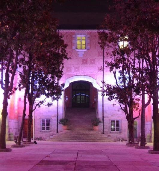 El Museu d'Art de Girona, de nit