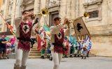 Abanderats en la Festa del Renaixement de Tortosa