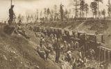 Presoners russos treballant en la construcció de l'últim tram del Transsiberià a inicis del segle XX