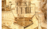 Vista de la Bastilla, el 1647