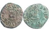 Dues monedes del segle XIV trobades a les fosses comunes targarines