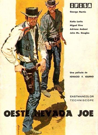 Cartell d''Oeste Nevada Joe'