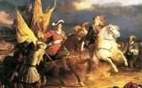 El duc de Vendôme i Felip V a la batalla de Villaviciosa