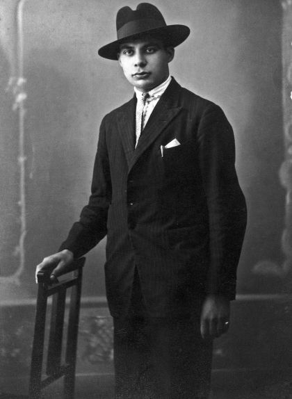 Antoni Benaiges quan era estudiant