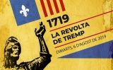 Detall del cartell de l'acte 'La revolta de Tremp'