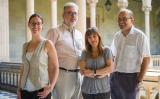 Mariona Lloret, Àngel Casals, Meritxell Simó i Josep Pich. Autor: Enrique Marco