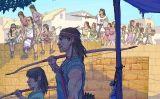 Il·lustració del Petit SÀPIENS número 23, dedicat als ibers (setembre 2019)