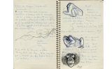 Anotacions i dibuixos de Jordi Sabater Pi fetes després d'unes de les nombroses observacions