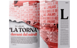 Obertura del reportatge dedicat a 'La Torna' que apareix al número 211 del SÀPIENS