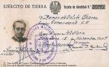 Targeta d'identitat de Ramon de Colubí