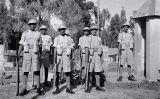 Soldats indis en un punt fronterer amb el Pakistan