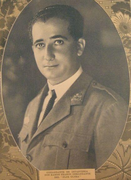 Fotografia de Ramón Franco de l'any 1926